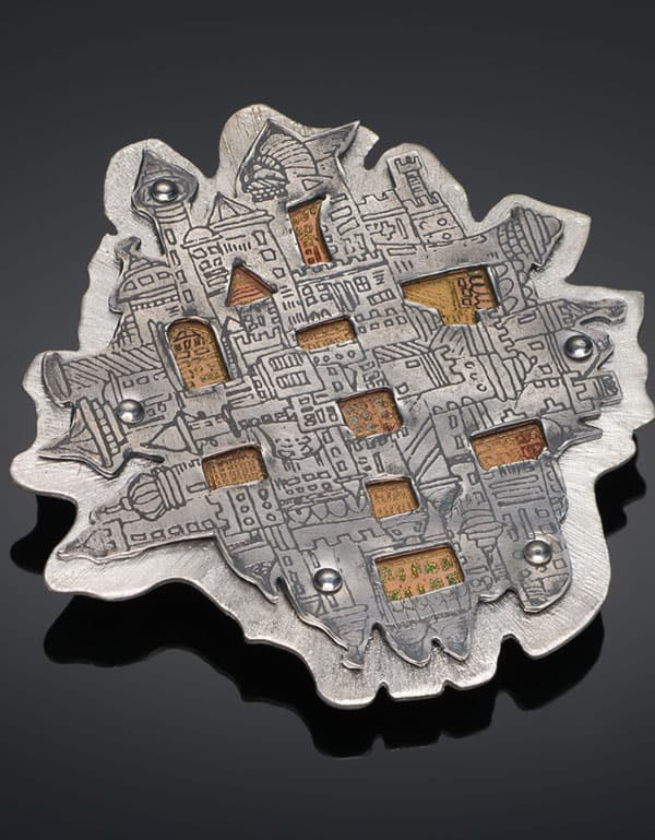 City Brooch by Julia Rai