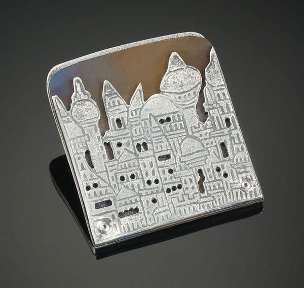 Night City Pin by Julia Rai