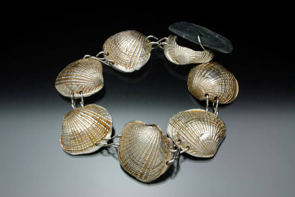 Shell bracelet by Julia Rai