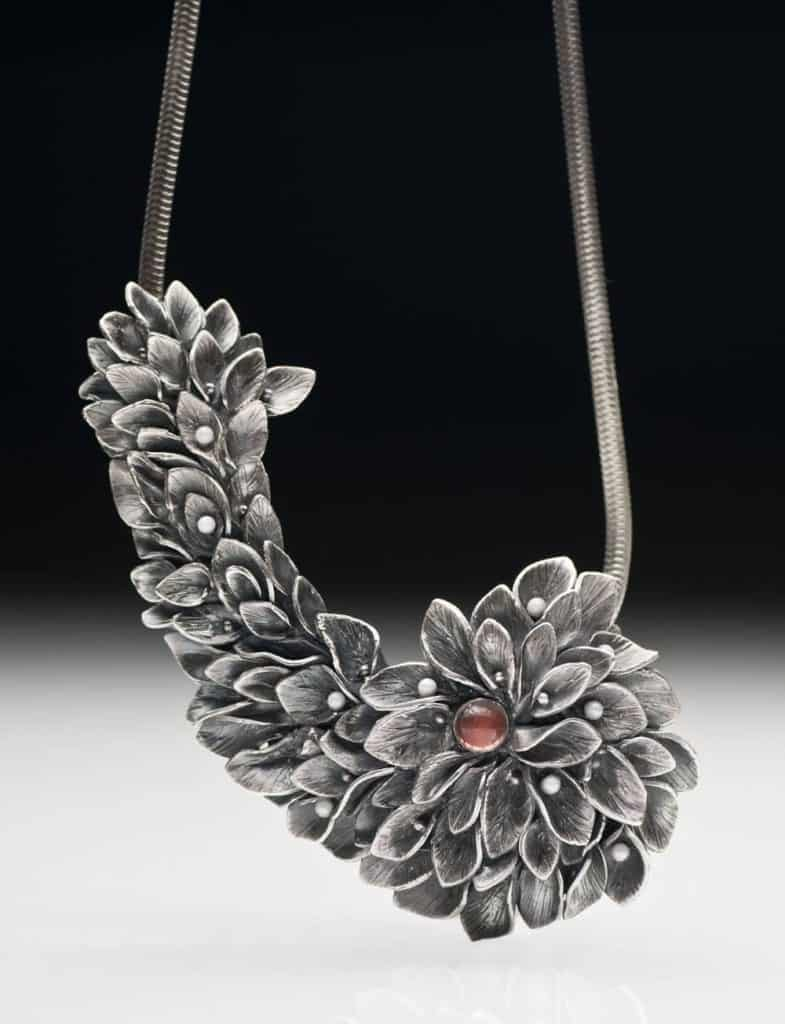 Sunstone Necklace by Julia Rai