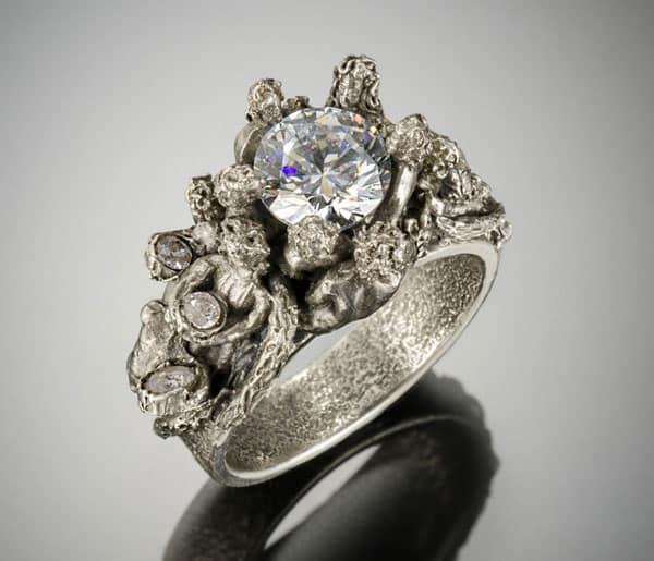 Acquisition Ring by Julia Rai