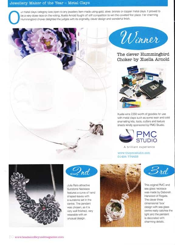 Jewellery Maker of the Year Competition 2012