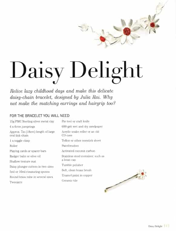 Daisy Delight Tutorial by Julia Rai