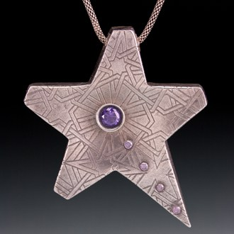 Star necklace by Julia Rai