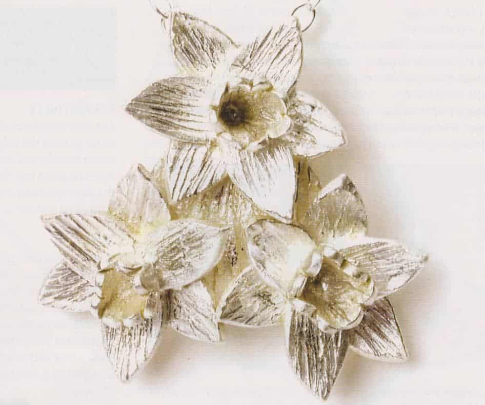 Daffodil Pendant by Julia Rai