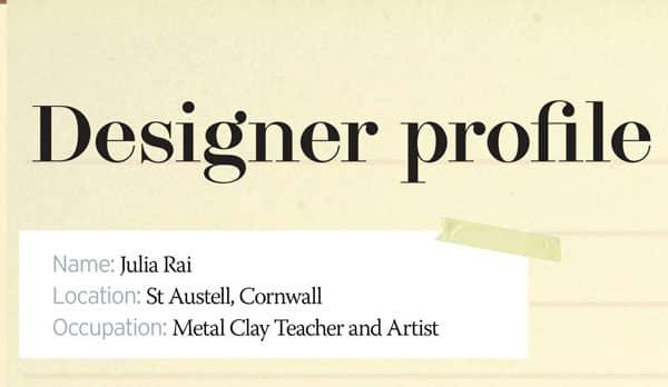 Julia Rai Designer Profile