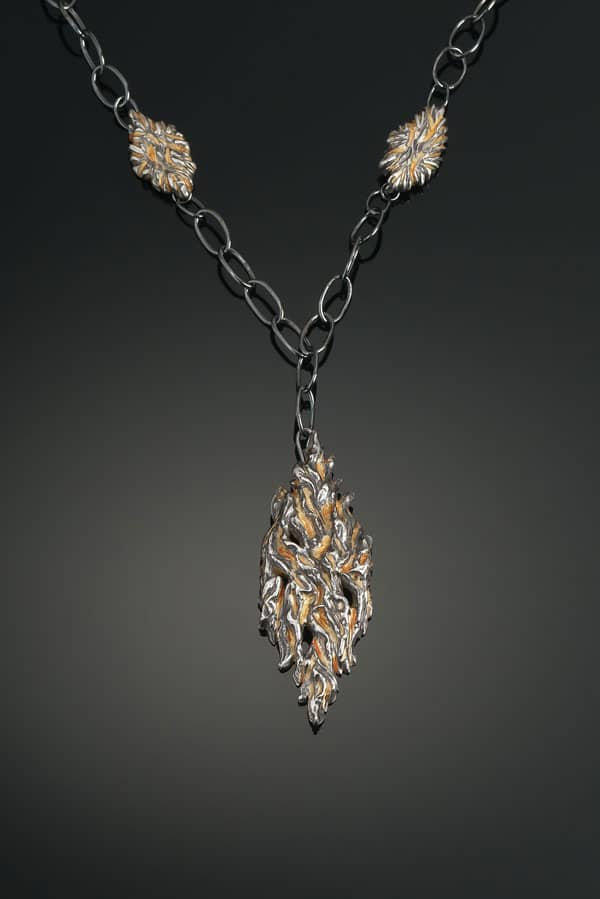 Fire Necklace by Julia Rai