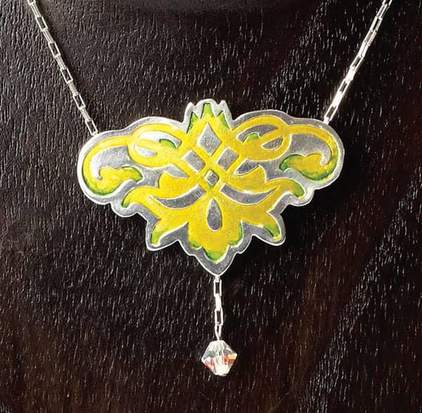 Galadriel's Necklace Tutorial by Julia Rai