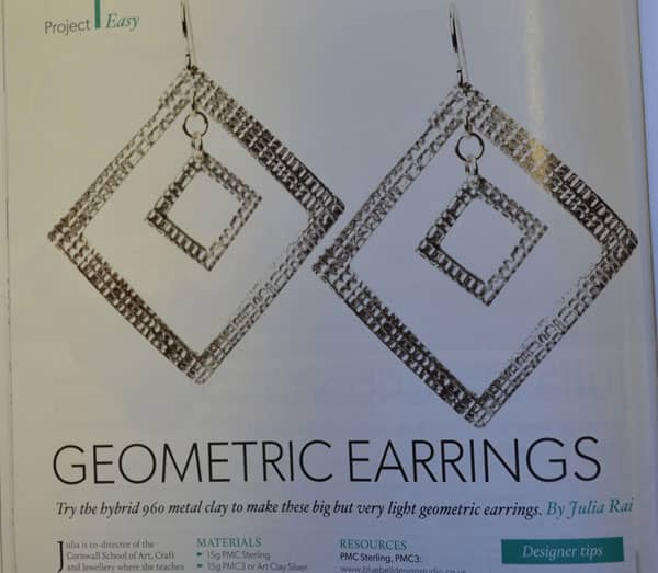 Geometric Earrings by Julia Rai