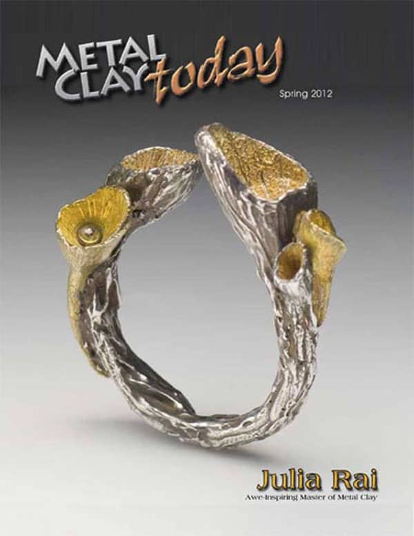 Featured Artist Julia Rai in Metal Clay Today Magazine
