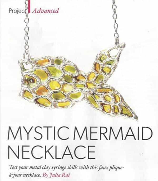 Mystic Mermaid Necklace Tutorial by Julia Rai
