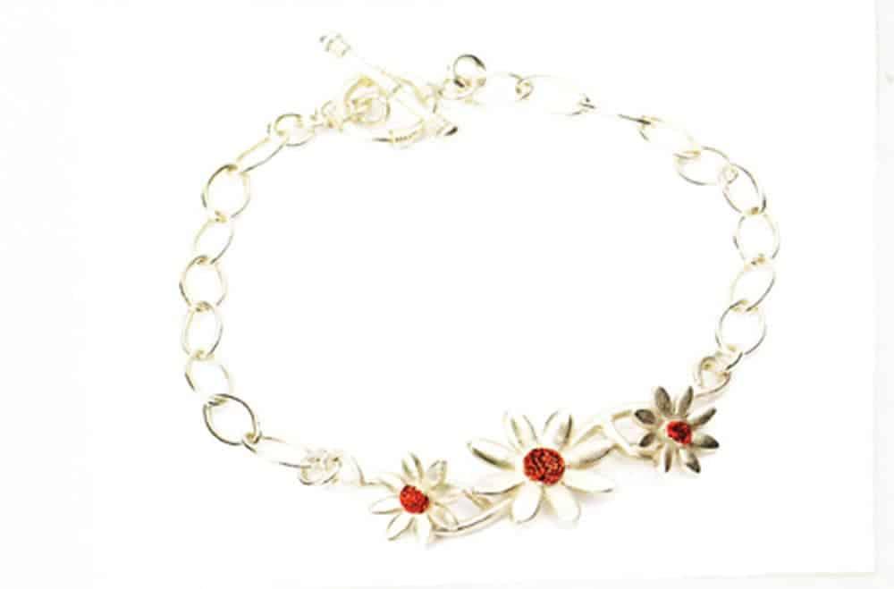 Daisy Chain Bracelet by Julia Rai