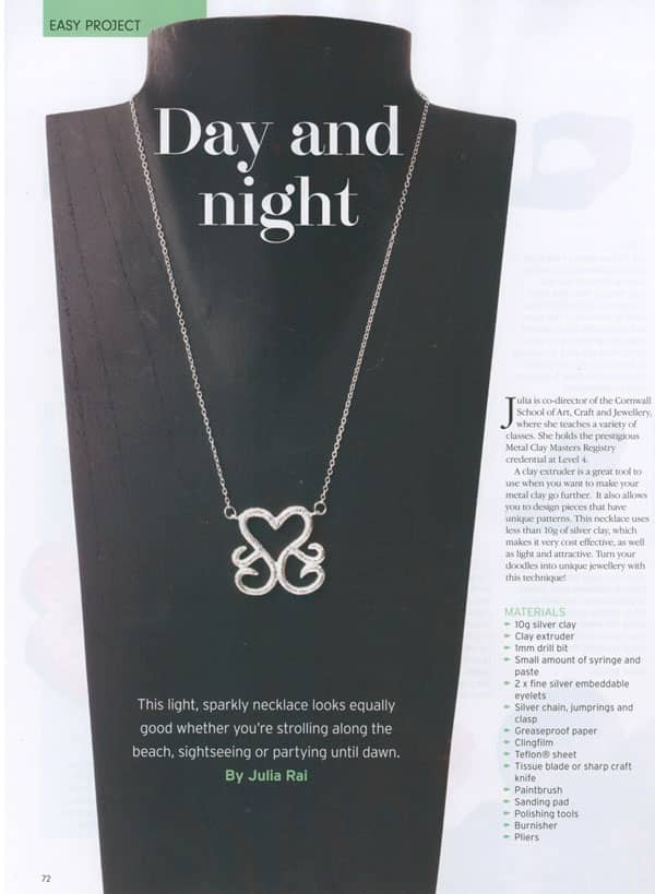 Day and Night Necklace Tutorial by Julia Rai