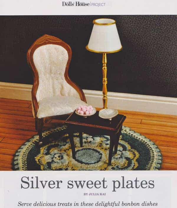 Silver Sweet Plates Tutorial by Julia Rai