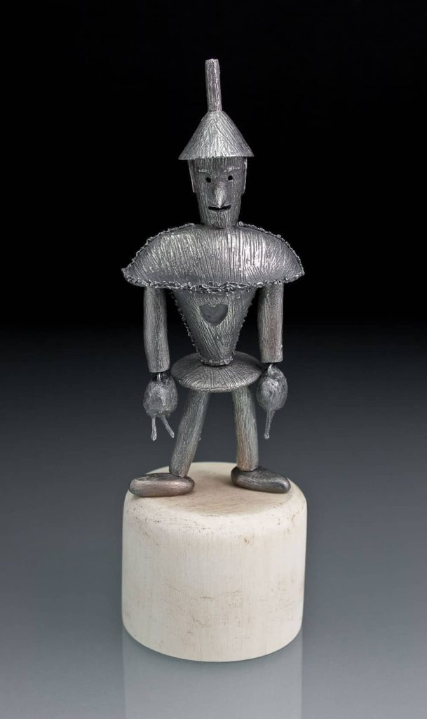 Tin Man Toy by Julia Rai