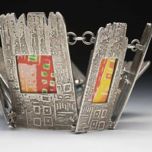 Cityscape Bracelet by Julia Rai